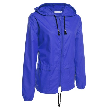 ODM for China PVC Raincoat, Kids PVC Raincoat, Military PVC Raincoat, Adult PVC Raincoat Manufacturer Women's Lightweight Rain Jacket Packable Hooded Raincoat export to South Korea Manufacturers