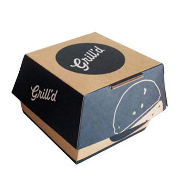 Customized Food Packaging Paper Burger Box