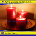 Hot sale color pillar candle home decoration