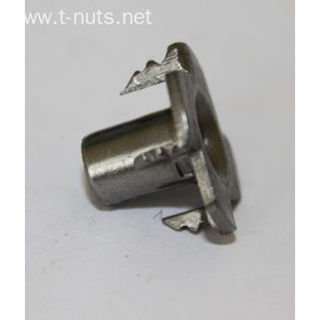 Plain Carbon Steel Locking M6X9 Furniture T Nuts