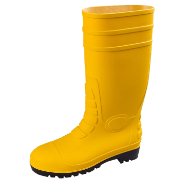 Yellow Safety PVC Gum Boots