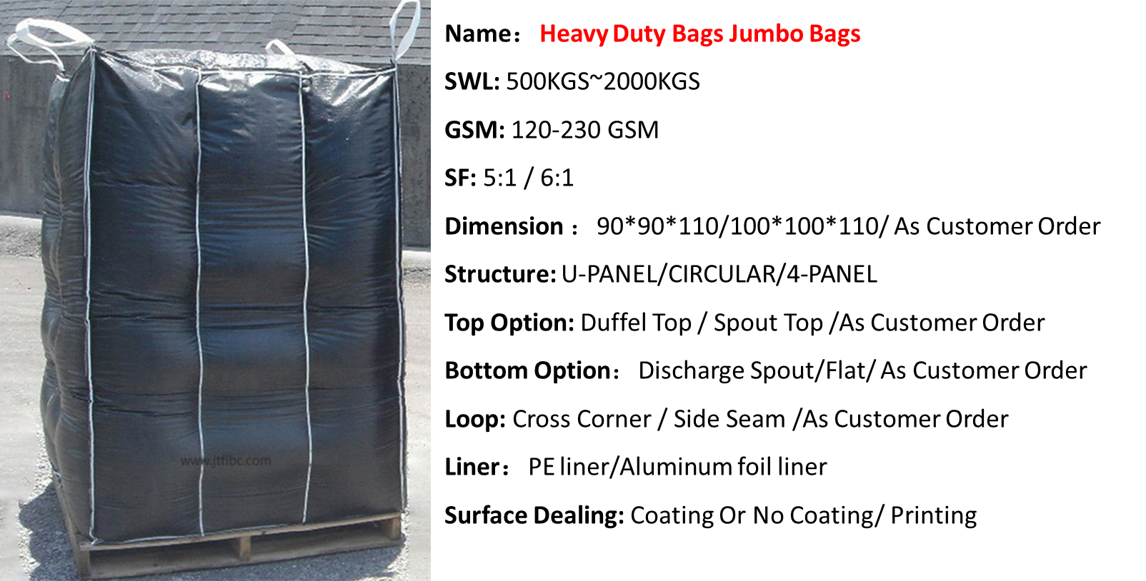 heavy duty bags