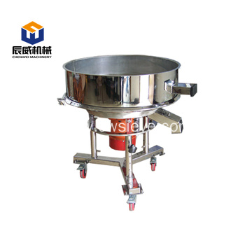 high frequency food vibro mechanical sieve