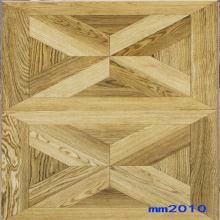 Grey Square Parquet Laminate Flooring Durability