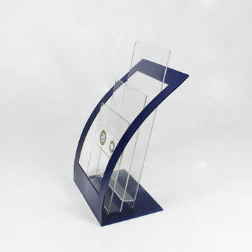 Custom Acrylic Literature Display Stand For Sale