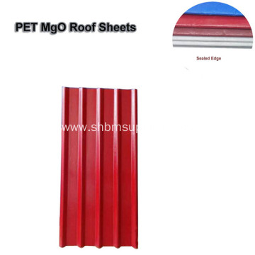 Cheap Heat-Insulating Fireproof Harmless MgO Roofing Sheets