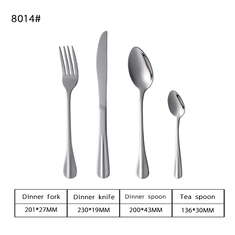 18-0 Elegant Stainless Steel Tableware