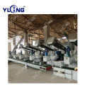 YULONG 6th XGJ850 2.5-3.5T biomass pellet machine for sale