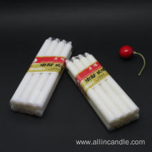 Low price home brighting white pillar candle