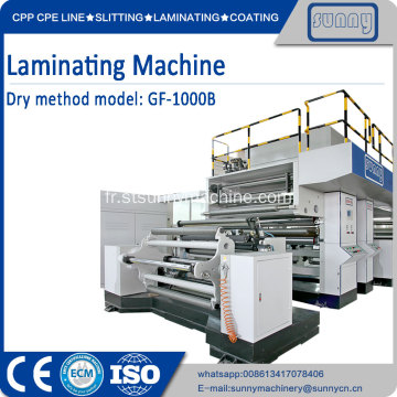 Machine de laminage à sec