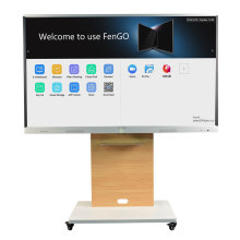 Interactive touch screen whiteboard monitor led flat panel