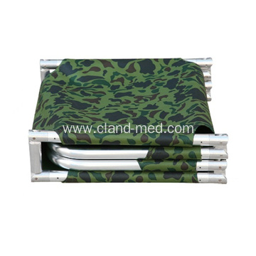 Quarter  Aluminum Alloy  Folding  Stretcher Bed 4-fold stretcher