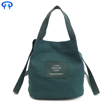 Fashion canvas lady handbag
