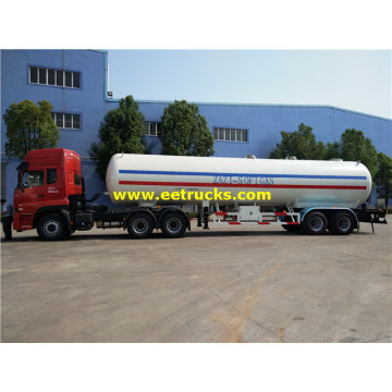 25 Ton Bulk ASME LPG Trailer Tanks