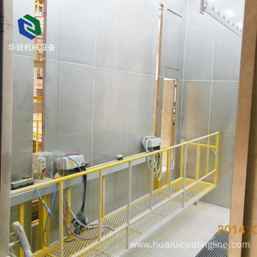 High Efficiency  Automatic Powder Spray Booth