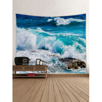 Tapestry Wall Tapestry Wall Hanging Ocean Sea Series Tapestry Great Wave Reef Tapestry for Bedroom Home Dorm Decor