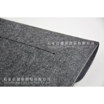 New design customized color felt laptop bag