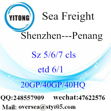 Shenzhen Port Sea Freight Shipping To Penang