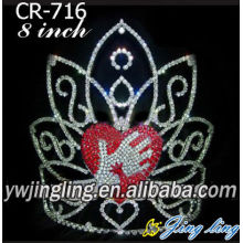 Custom Rhinestone Pageant Crowns For Sale