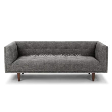 Modern Furniture Cirrus Briar Gray Fabric Sofa