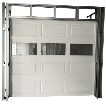 External Security House Sectional Garage Door