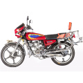 HS125-C Gas Street Red Motorcycle With Backrest