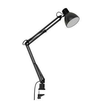 Swing Arm Desk Lamp Clip-on Table Lamp Clamp Desk Lamp