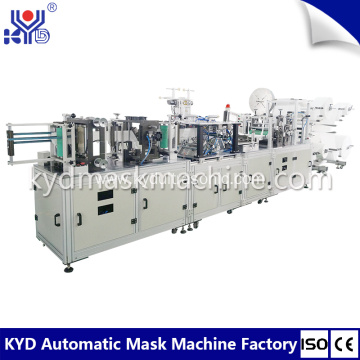 2018 new automatic headband earloop folding mask machine