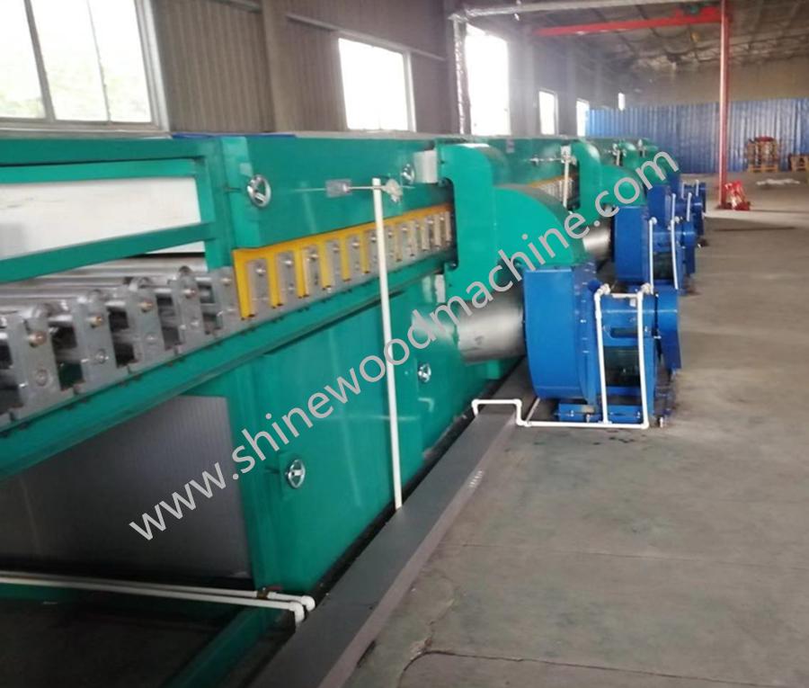 Biomass Veneer Dryer