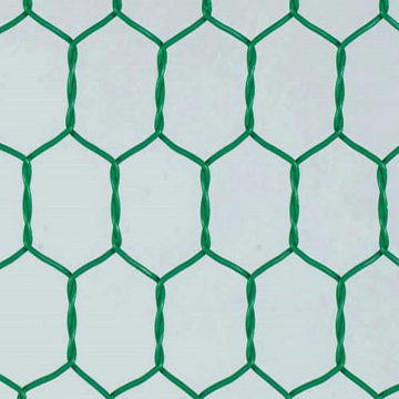 2*1*0.5M Size Pvc Green Colors Gabion Box