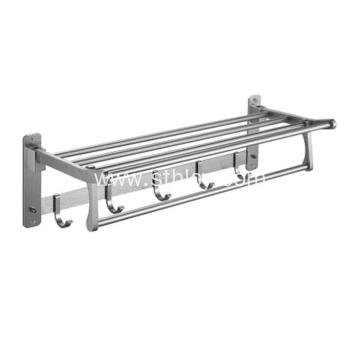 Stainless Steel Towel Rack Bathroom Shelves