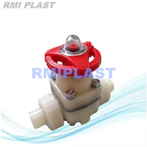 PVDF True Union Diaphragm Valve