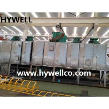 Granular Materials Belt Dryer