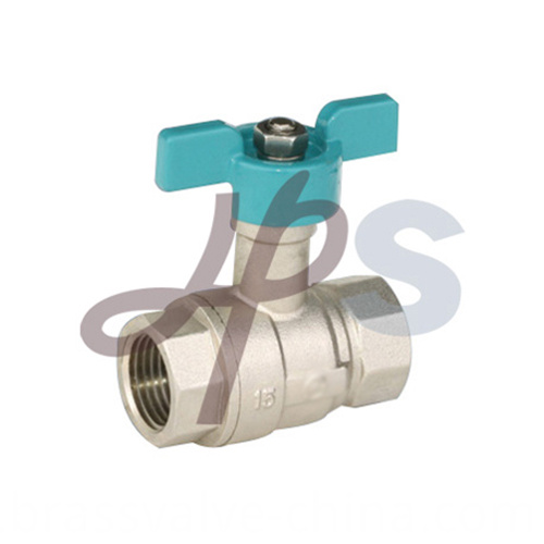 Brass Ball Valves With Butterfly Handle Hb45