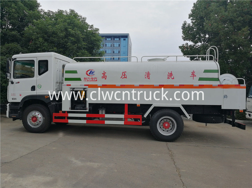 high pressure washing truck 2