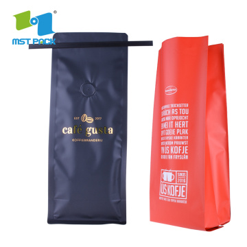 Aluminum Foil Side Gusset Coffee bag