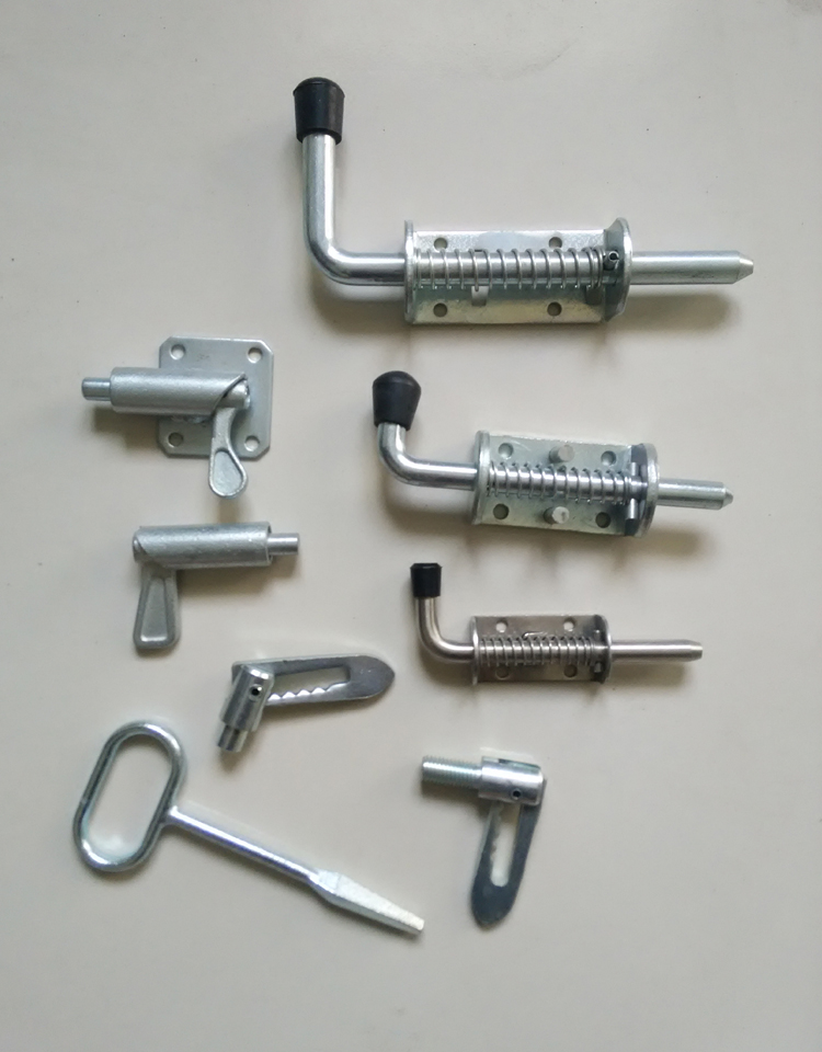 Spring Loaded Shot Bolt/Spring Loaded Latch Bolt