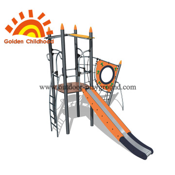 Children outdoor playground climbing net equipment