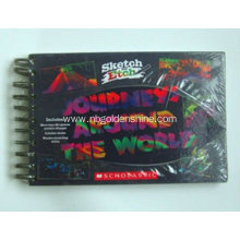 Rainbow Scratch Art Book