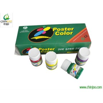 Factory supplied for Colorful Poster Paint 6*30ml fine quality poster color set supply to Hungary Factory