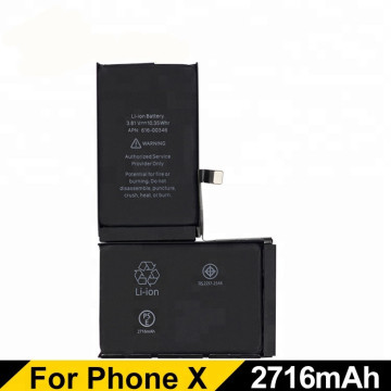 iphone X  lithium polymer phone battery