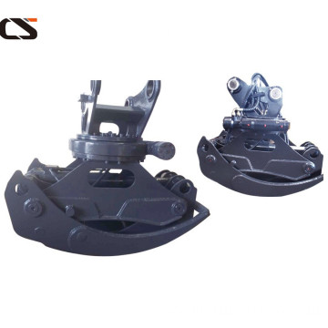 20tons excavator hydraulic single cylinder grapple