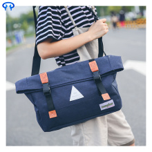 Fashion canvas diagonal handbag