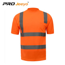 customized High visibility workmen's T-shirt
