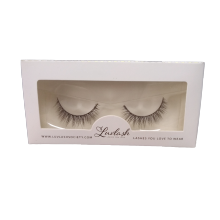 Private Design Eyelashes Paper Box with PVC Window