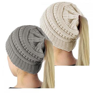Factory made hot-sale for Ladies Winter Hats,Winter Hats For Women,Warm Winter Hats For Ladies Manufacturers and Suppliers in China Women Knit Beanie Hat supply to St. Pierre and Miquelon Supplier