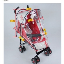 OEM Supplier for for Baby Carrier Plastic baby stroller rain cover supply to Finland Exporter