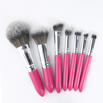 I-Mini 7pcs Makeup Brush Setha izivakashi