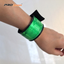 Fluorescence Green PVC Safety Hi Vis Wristband