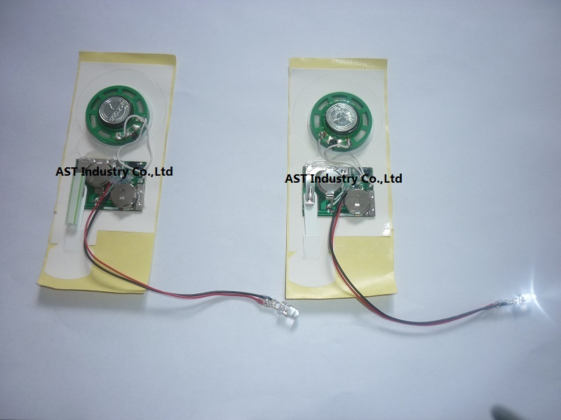 LED Sound Module, Slide Sound Module with LED